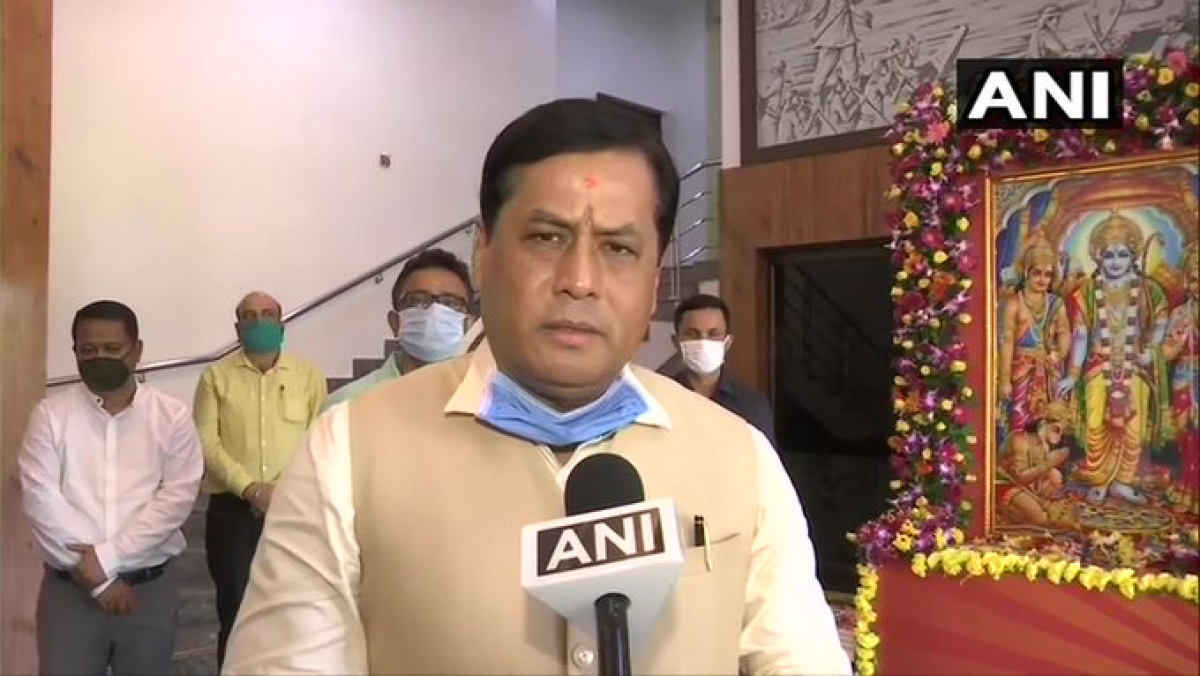 Outgoing Assam CM Sarbananda Sonowal submits resignation to Governor Jagdish Chandra Mukhi