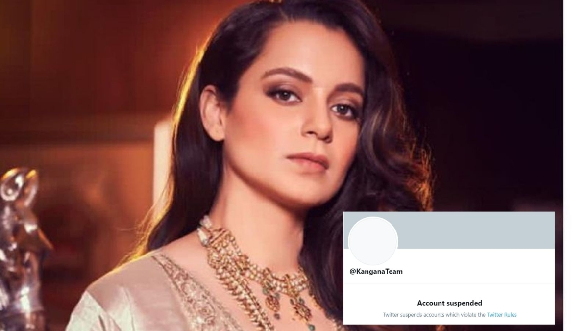 Why Kangana Ranaut's Twitter handle was suspended