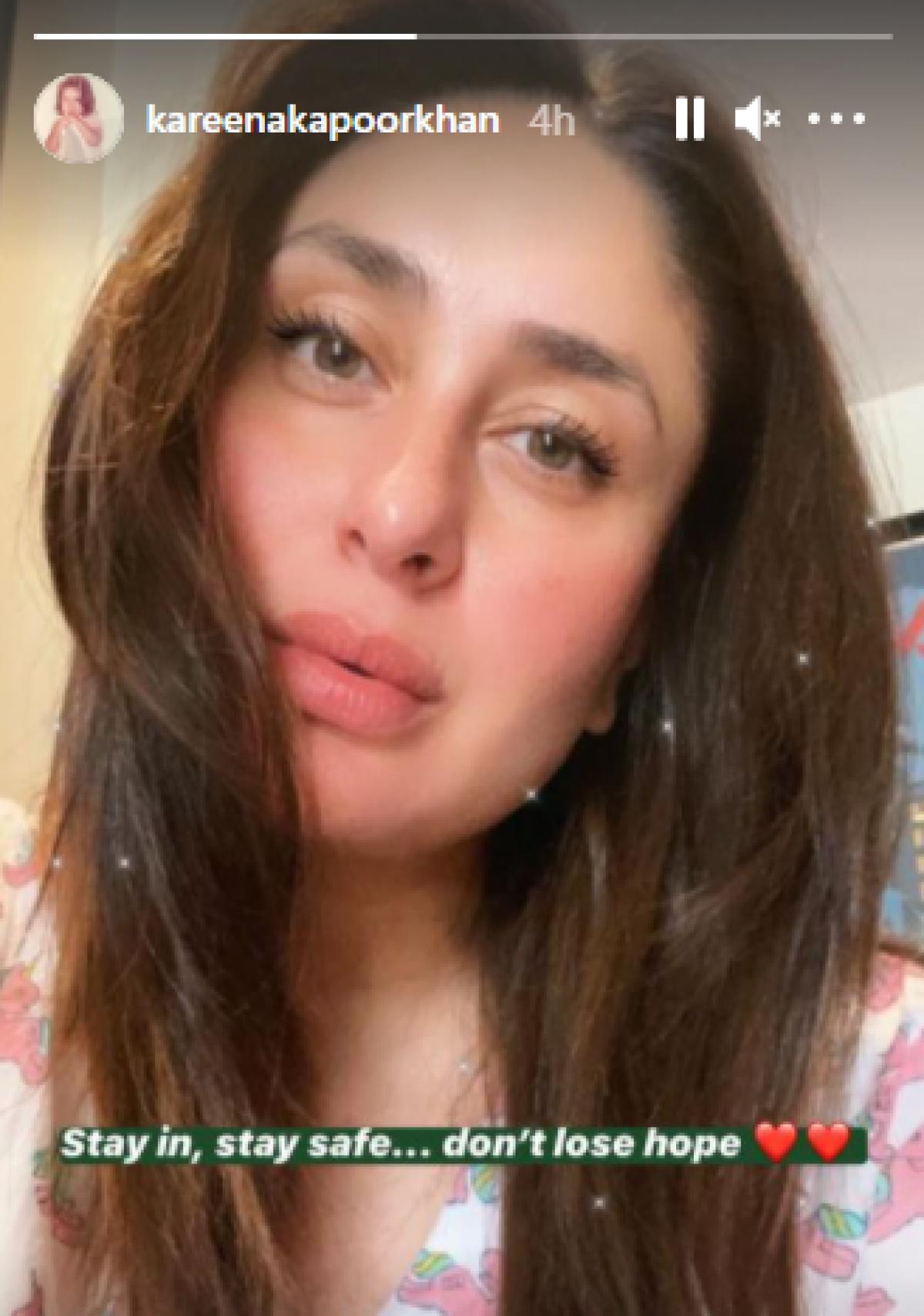 Kareena Kapoor Khan shares stunning Sunday post, urges people to not lose hope amid COVID-19 pandemic