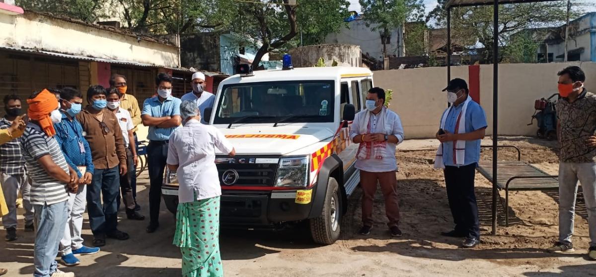 Madhya Pradesh: Covid Care Centre inaugurated in Tanda