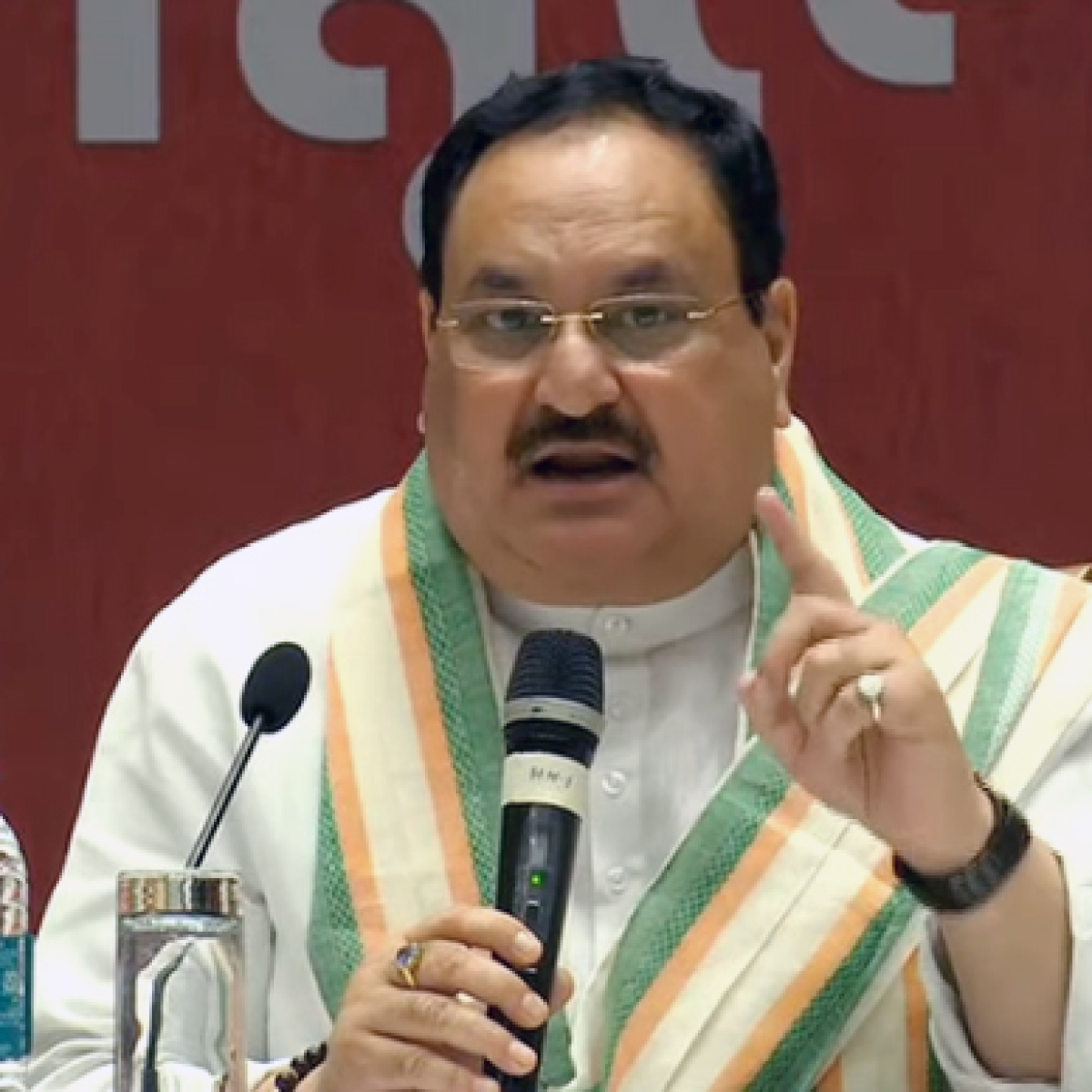 Nadda slams Sonia Gandhi for criticising Centre's handling of COVID-19, targets Rahul for 'duplicity, pettiness'