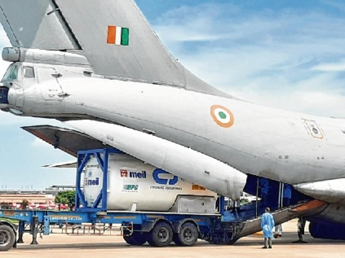 British Airways flight carrying 18 MT medical aid lands in Delhi