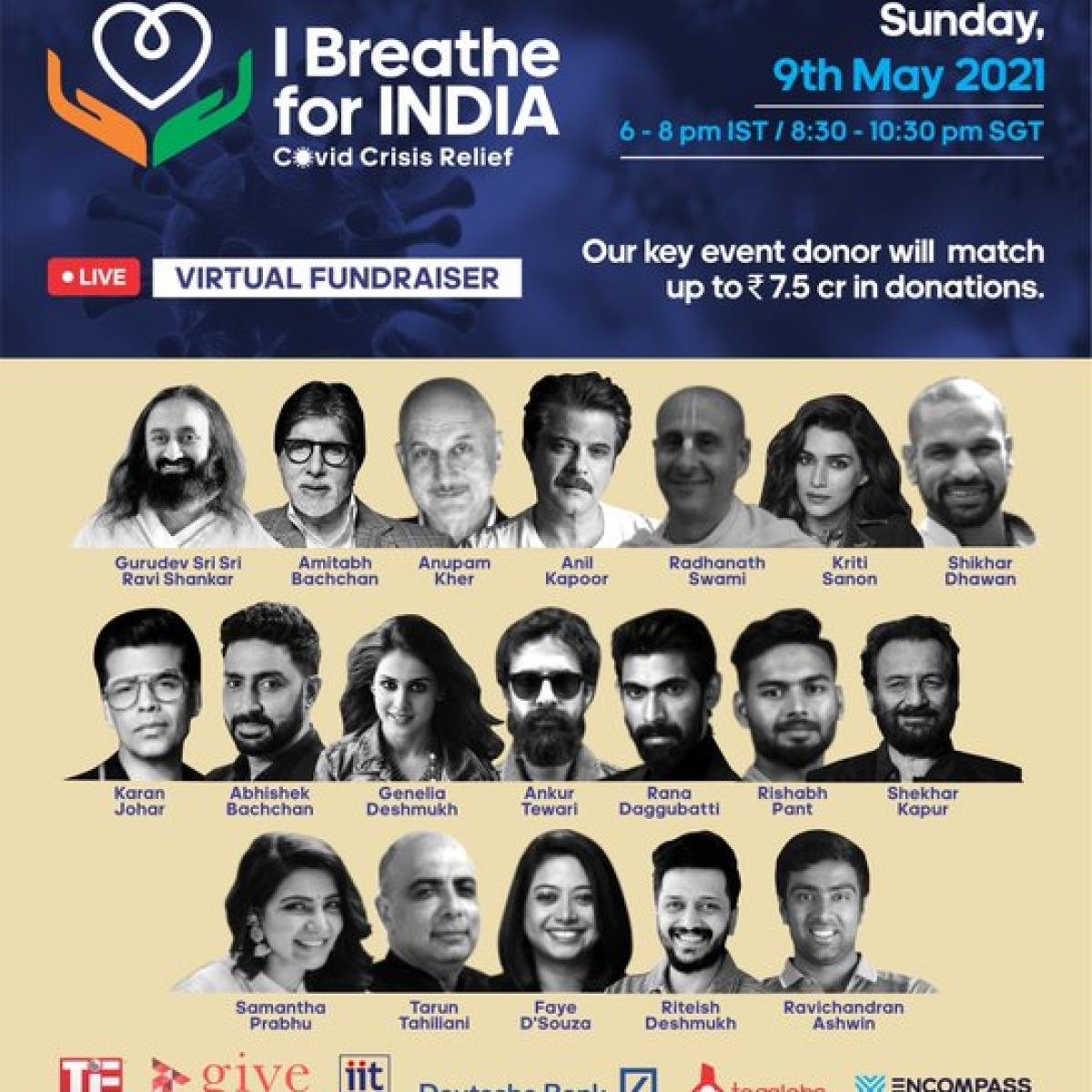 Lara Dutta Bhupathi raises Rs 14.6 crore for COVID-19 relief through 'I Breathe For India'; expresses gratitude