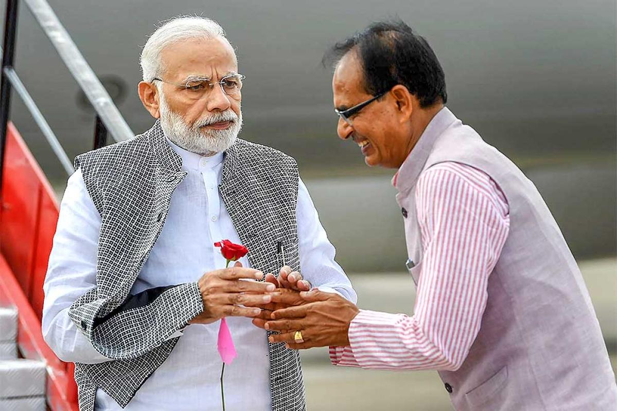 Shivraj Singh Chouhan tells Prime Minister: Covid pace slowing down in Madhya Pradesh