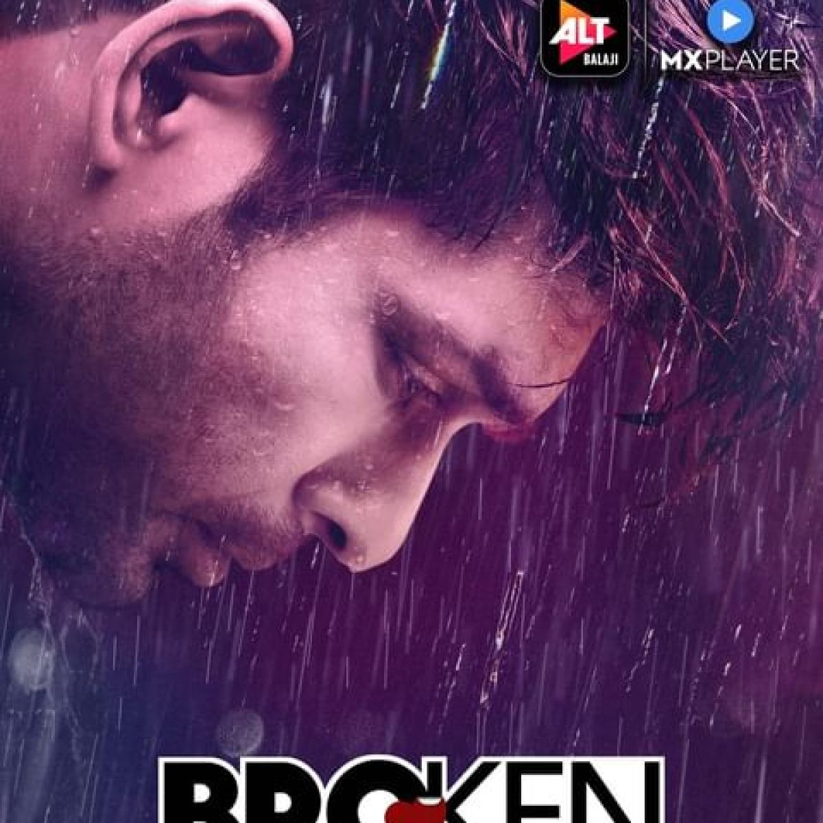 Sidharth Shukla cries in the rain in 'Broken But Beautiful 3' poster
