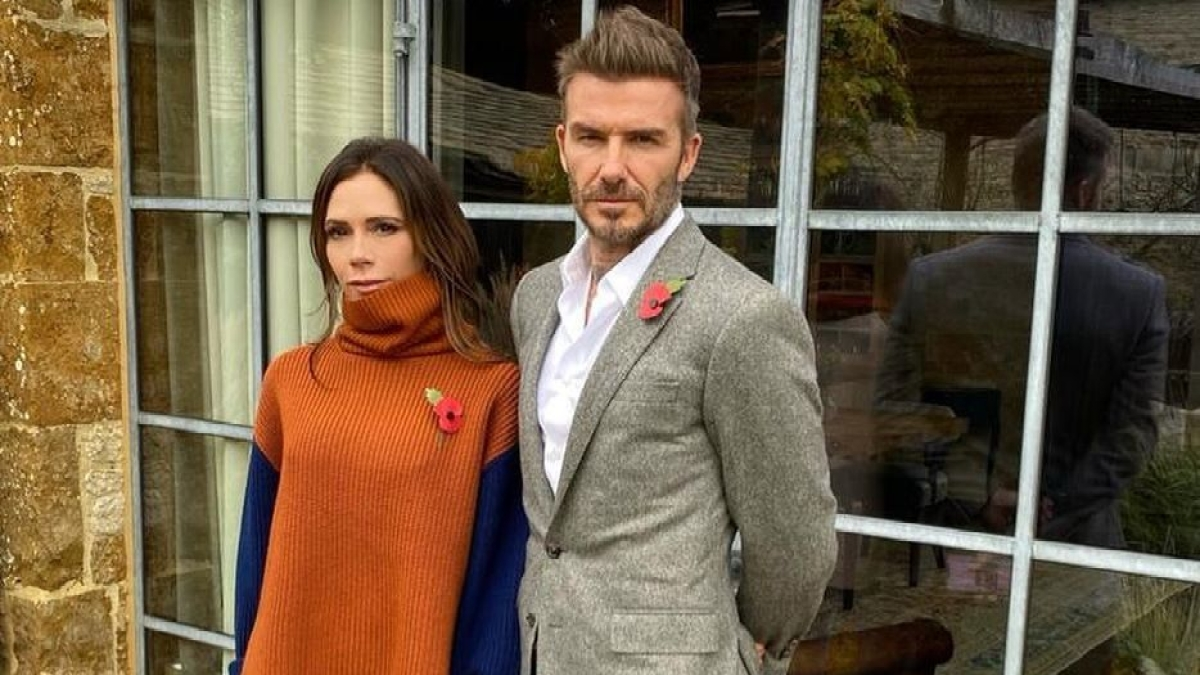 Victoria Beckham reveals that her footballer husband David Beckham takes zoom calls in underwear