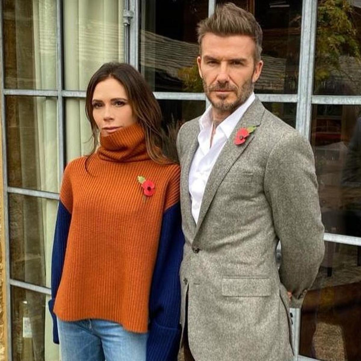 Victoria Beckham reveals that her footballer husband David Beckham takes zoom calls in underwear