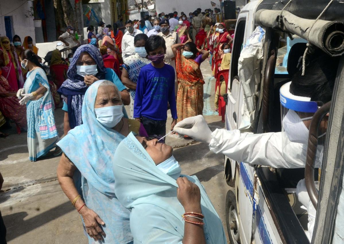 Madhya Pradesh: Corona-positive rate 1.8 per cent in state