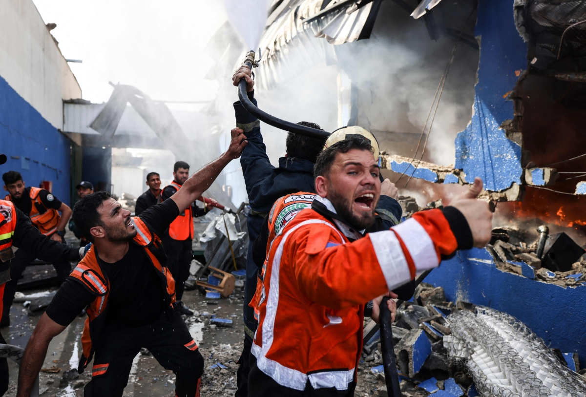 'Act proportionately': Britain calls on Israel to avoid casualties after Gaza's medical facilities are destroyed