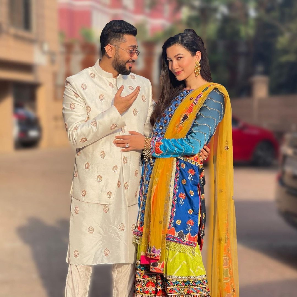 Gauahar Khan gives befitting reply to troll who said 'in Islam women are always at man's feet'