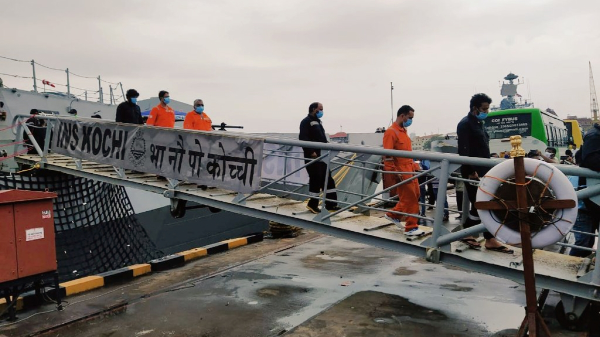 Cyclone Tauktae: 49 from barge P305 still missing, Indian Navy continues search on 4th day