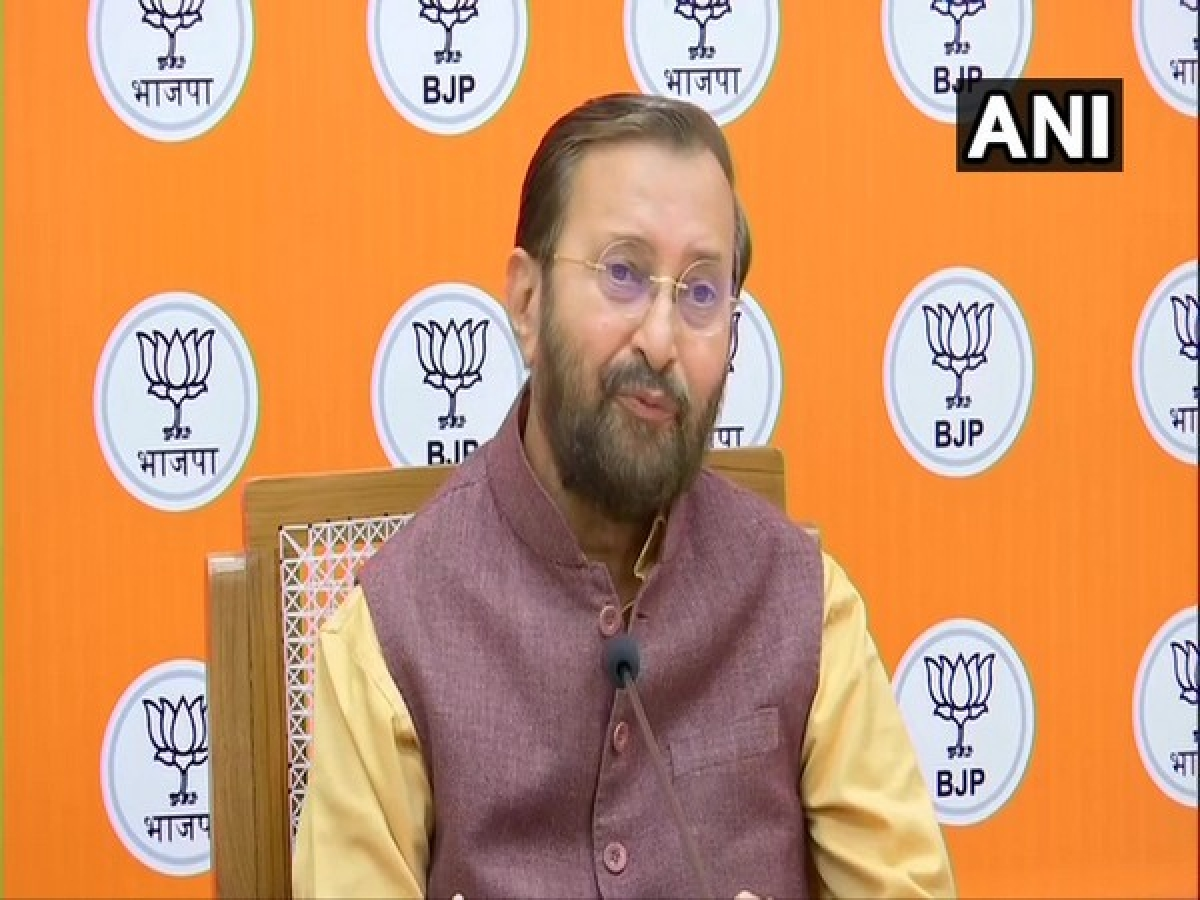 """Union Minister for Information and Broadcasting and senior BJP leader, Prakash Javadekar on Saturday slammed Congress and its acting president Sonia Gandhi for indulging in """"politics of negativity"""" against the country"""
