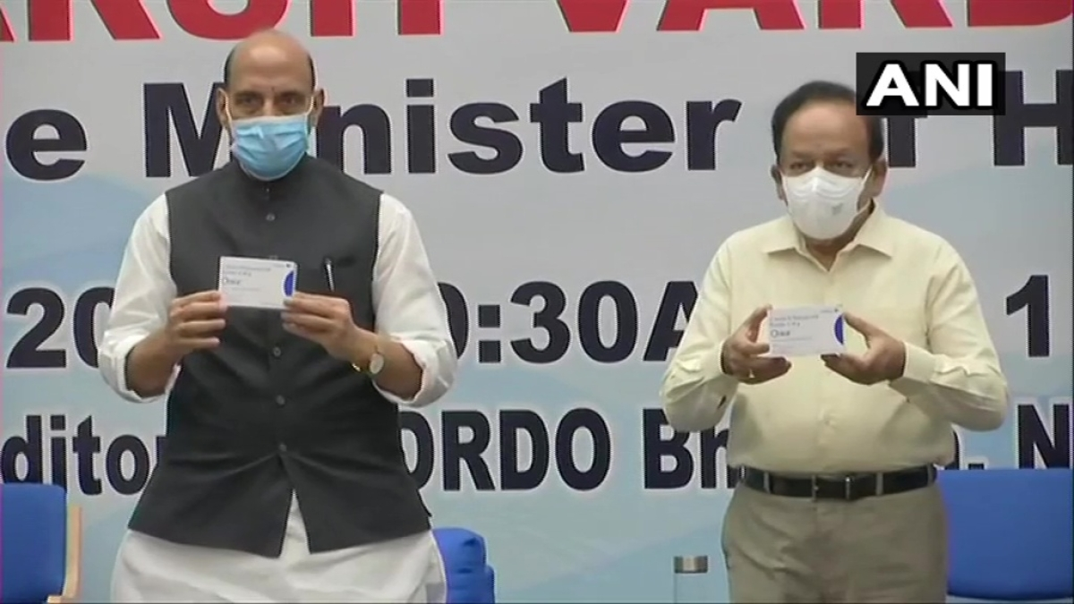 Rajnath Singh, Harsh Vardhan release first batch of DRDO's anti-COVID drug 2-DG