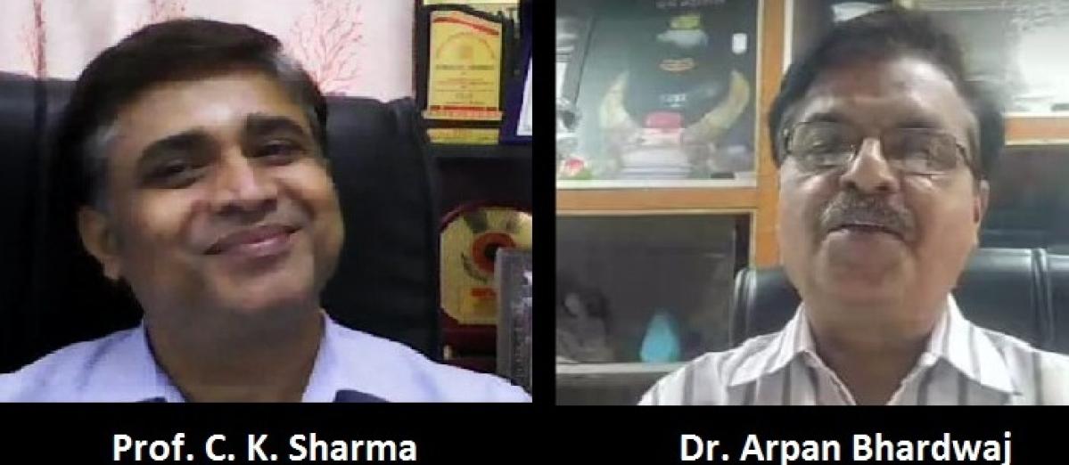 Ujjain: HEAP 2021, happiness & natural herbs aid immunity, says Dr Sharma