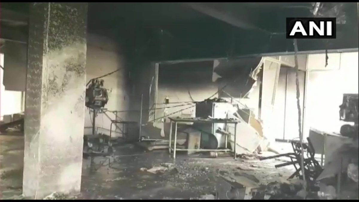 Gujarat: 18 coronavirus patients die in Bharuch hospital fire; CM announces assistance of Rs 4 lakh for kin