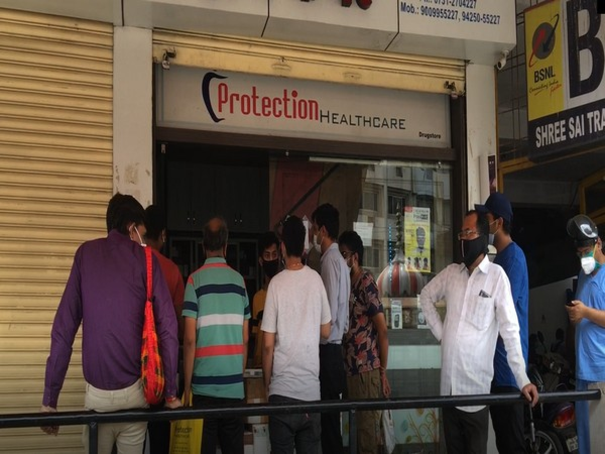 Amid the rising cases of black fungus infection in Indore, there is a shortage of Amphotericin injections in the city