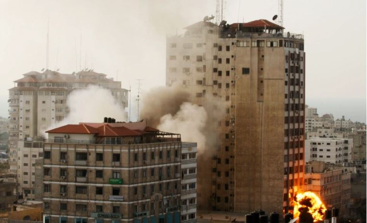 Live: Israeli airstrike flattens media houses in Gaza; AL Jazeera and AFP offices destroyed