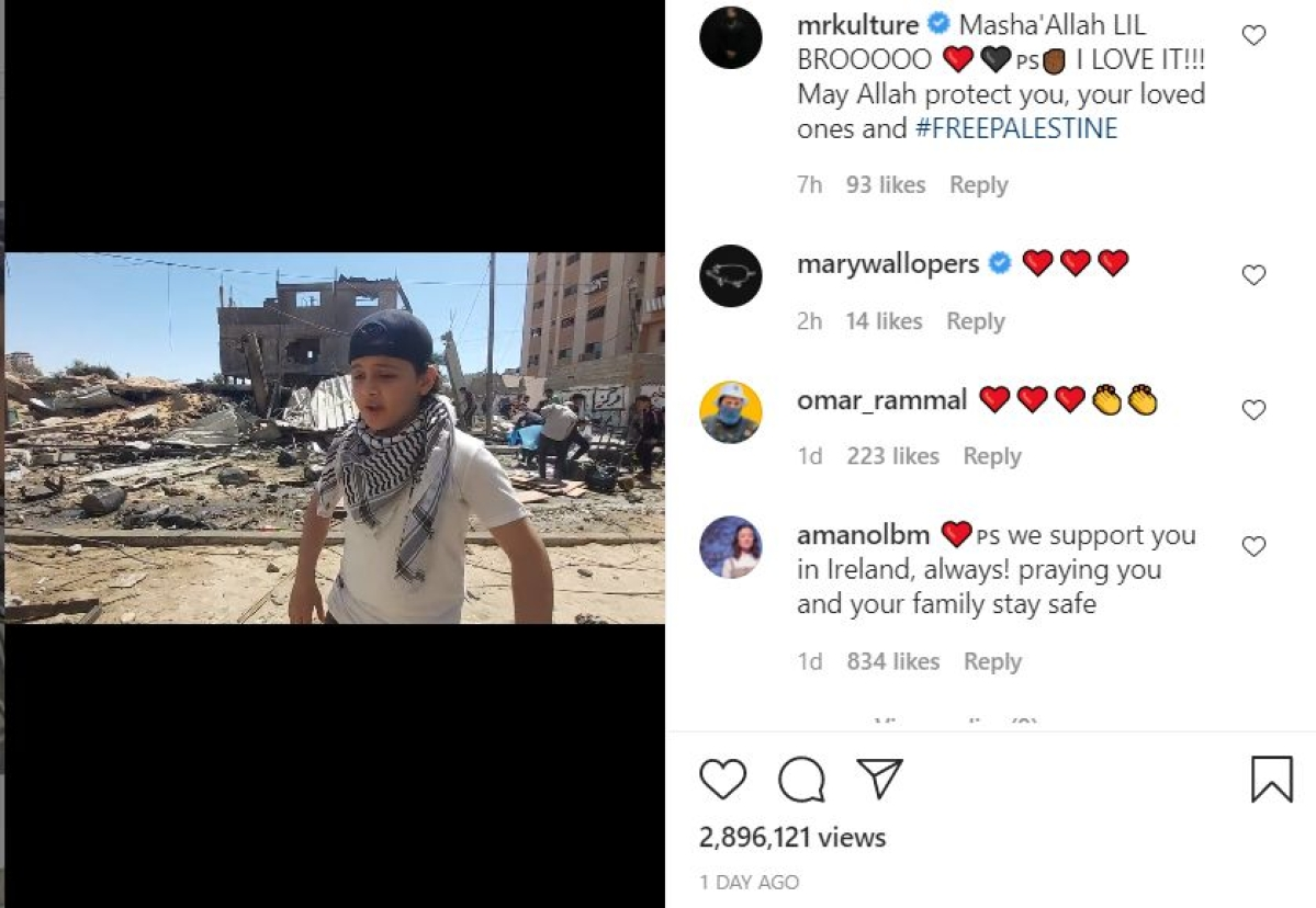 'Denied right to live free because of where she came': Gaza's 12-year-old rapper sings fearlessly amid ruins caused by Israeli airstrikes; Watch video
