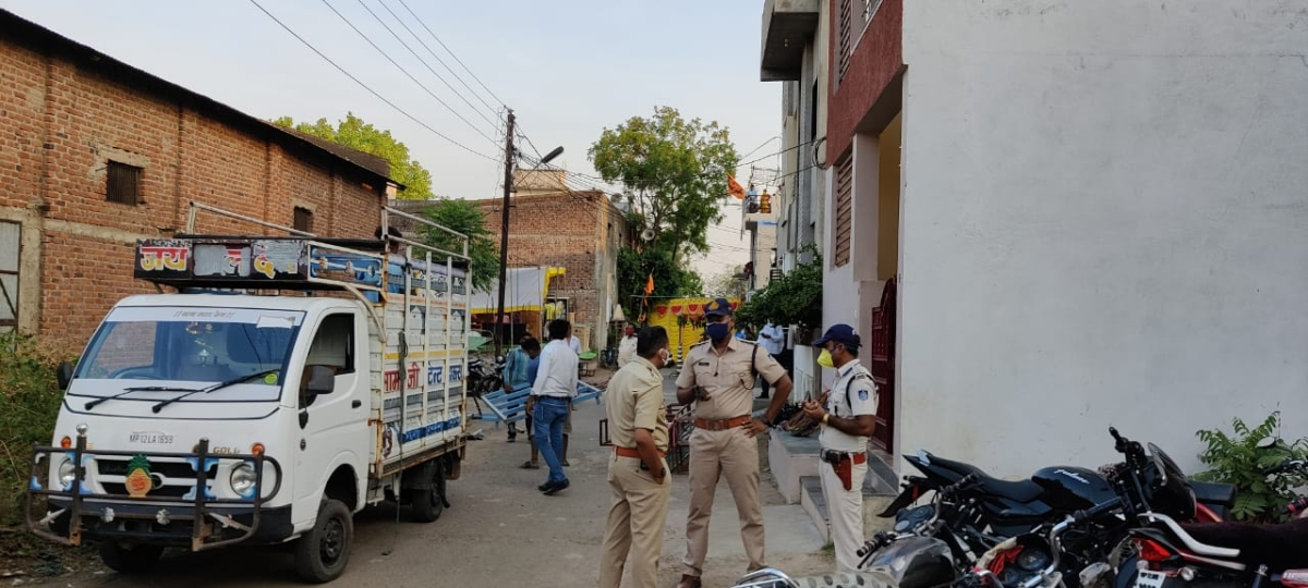 Marraige preparations stopped by police in Khandwa
