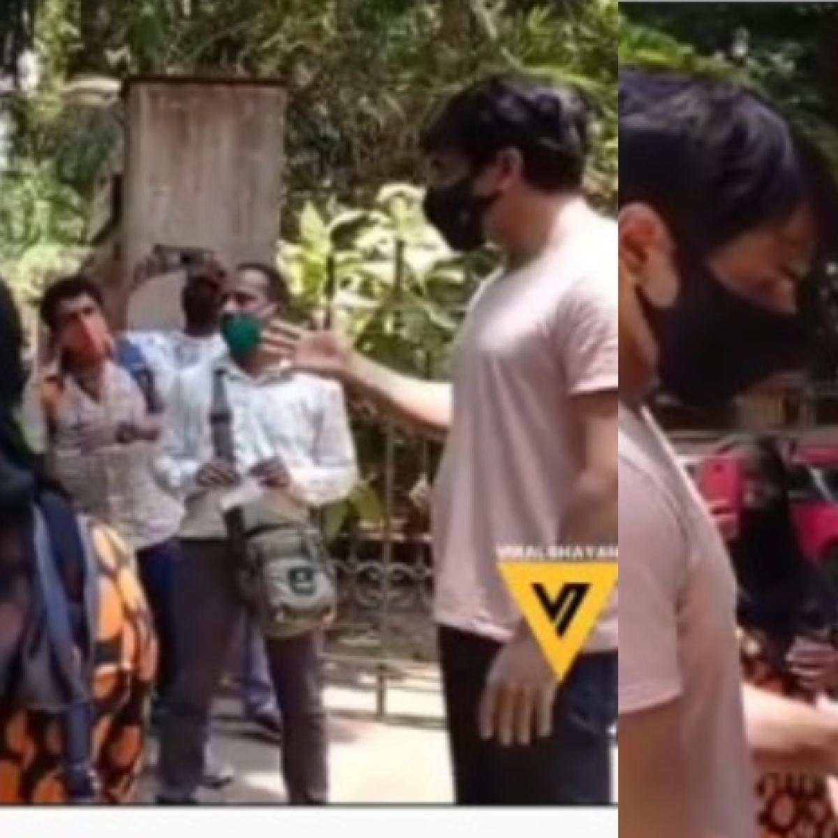 Watch: People gather outside Sonu Sood's Mumbai residence to seek help amid COVID-19 crisis
