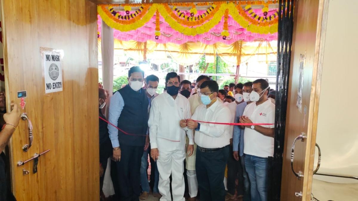Navi Mumbai: Airoli society sets up 26-bed COVID-19 care centre with ICU and ventilator facility - see pics