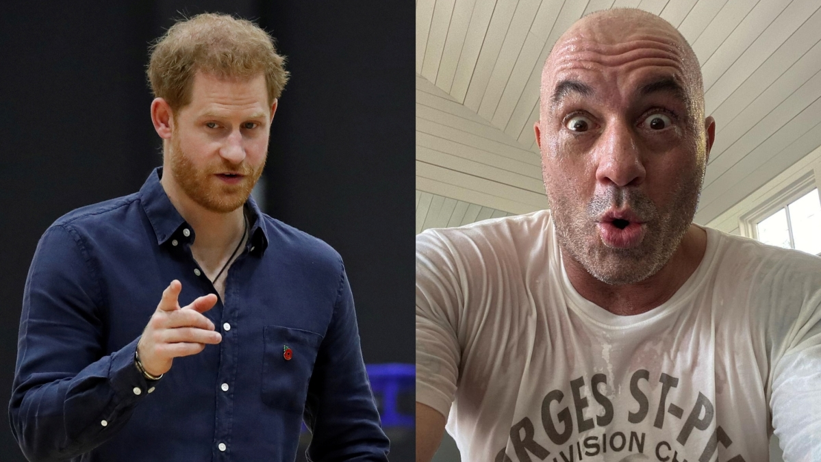 'Just stay out of it': Prince Harry slams comedian Joe Rogan for spreading misinformation on COVID-19 vaccine