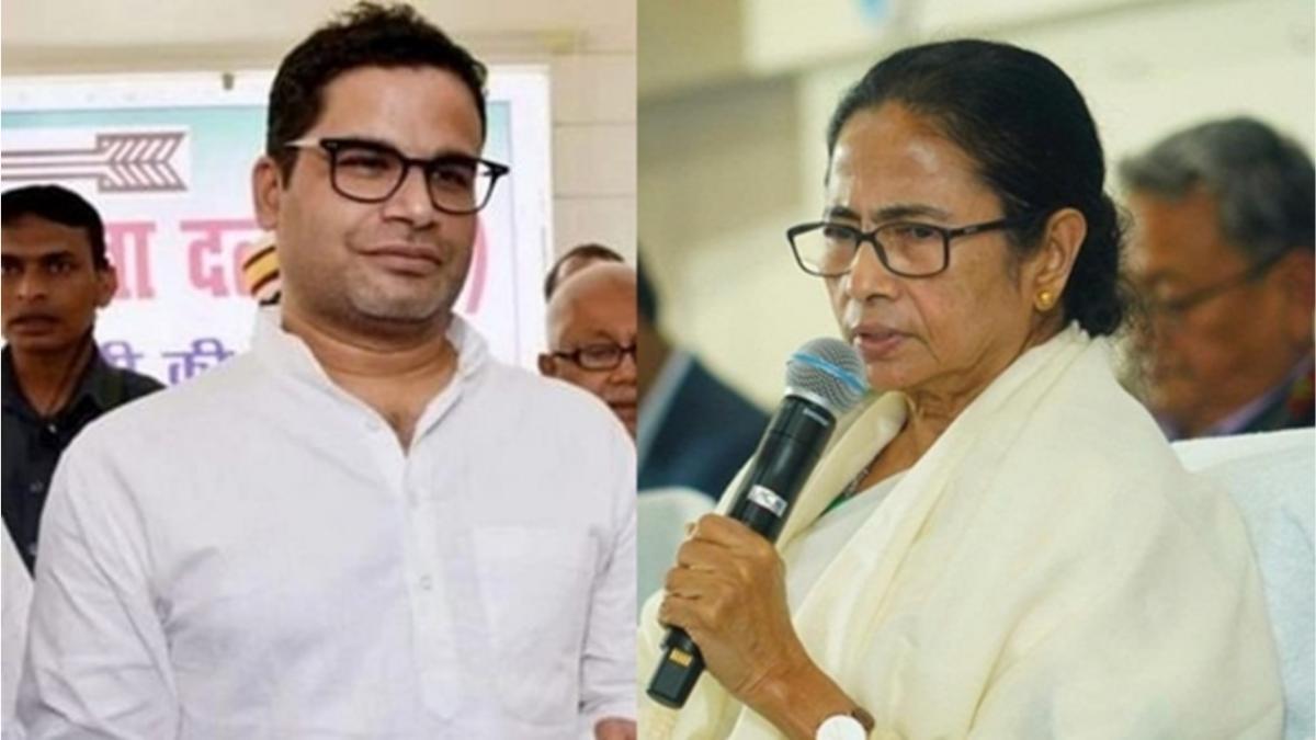 Prashant Kishor and Mamata Banerjee