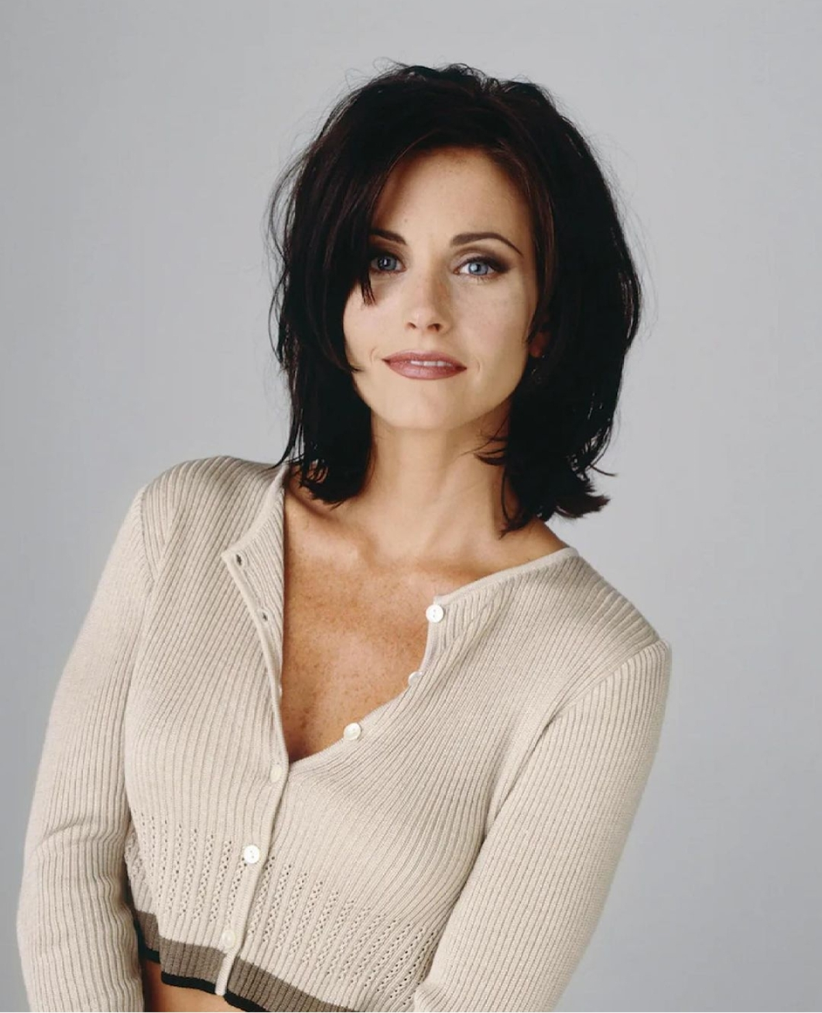 Monica played by Courteney Cox