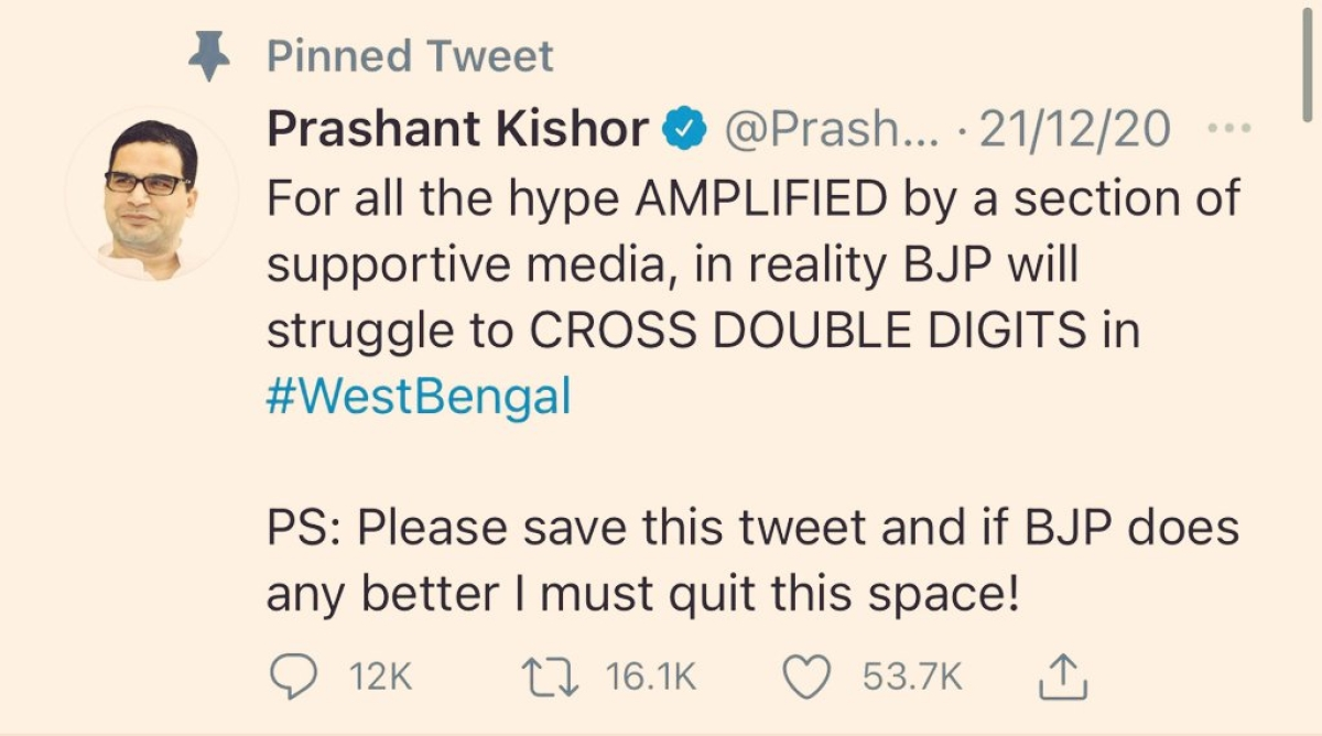 'Man of the hour': Twitterati hail poll strategist Prashant Kishor for his accurate election result predictions
