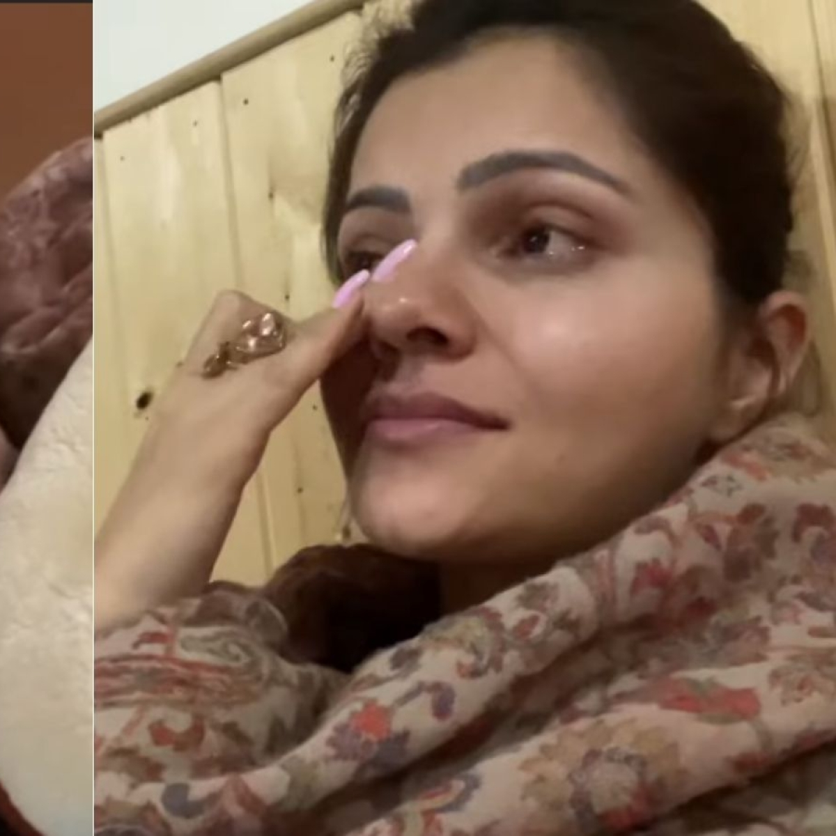 Watch: Rubina Dilaik breaks down while sharing her battle with COVID-19, expresses gratitude to family and fans
