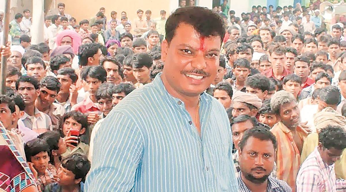 Former minister and Congress MLA from Gandhwani in Dhar district, Umang Singhar