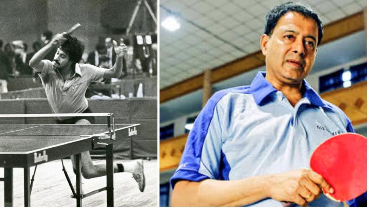 Table Tennis player V. Chandrasekhar