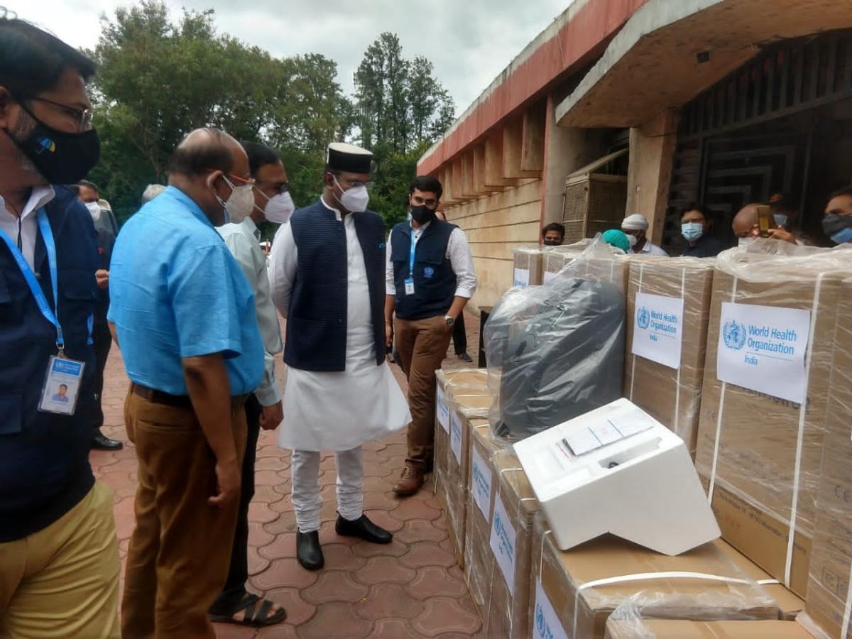 Bhopal: World Health Organisation sends 100 oxygen concentrators to Madhya Pradesh