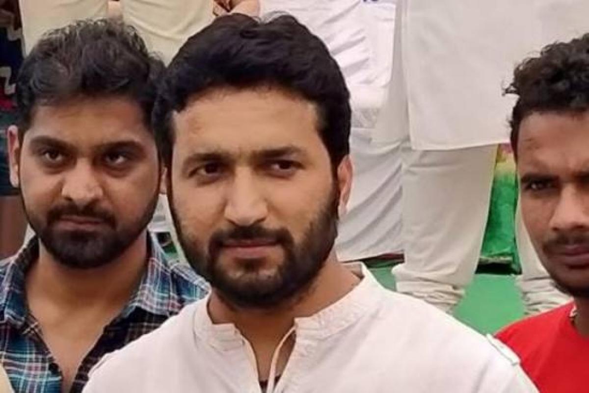 Aklavya Laxman Singh Gaur, son of BJP MLA Malini Laxman Singh Gaur