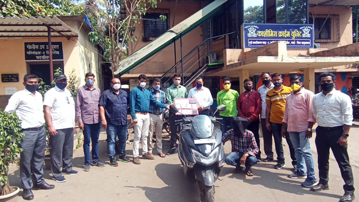 Mira-Bhayandar: Distinctive bike leads to arrest of habitual chain snatcher