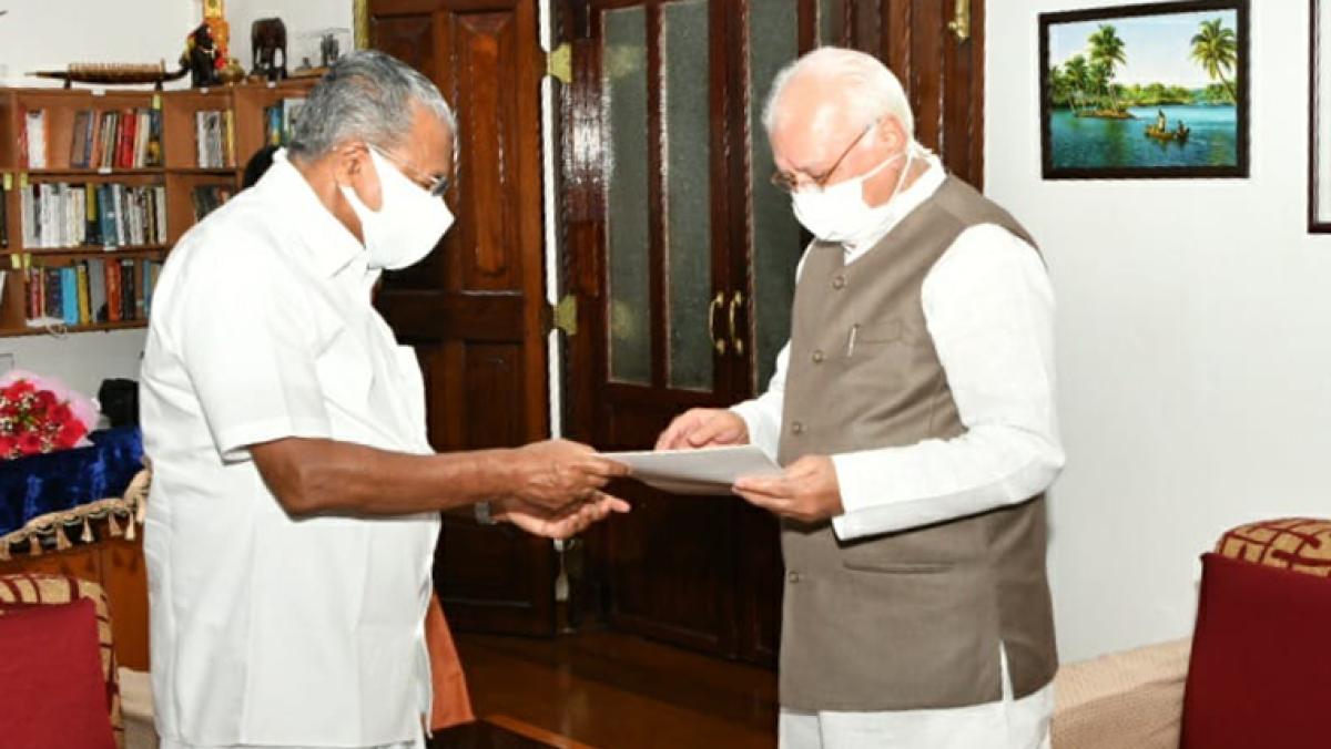 Kerala Election 2021: Pinarayi Vijayan submits resignation to Governor Arif Mohammed Khan