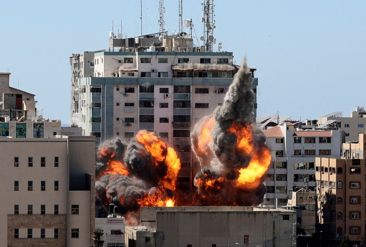 Israel-Palestine violence: Editors Guild, other Indian journalist bodies condemn Israeli airstrike on Gaza building housing AP, Al Jazeera offices