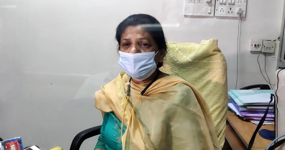 District Health Officer Dr Purnima Gadaria