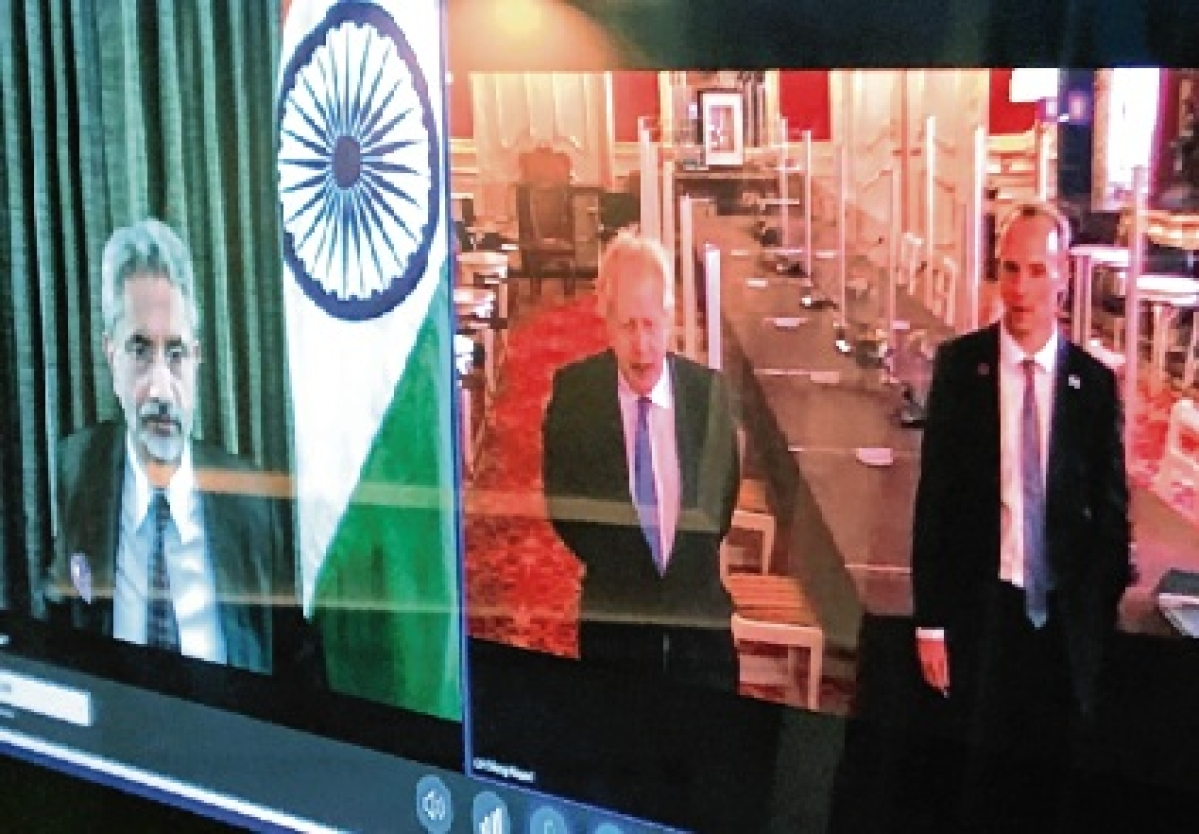 Virtual G7 meet in London as Indian delegates test positive