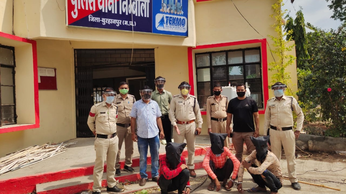 Burhanpur: Three held for robbing general store owner of Rs 27K