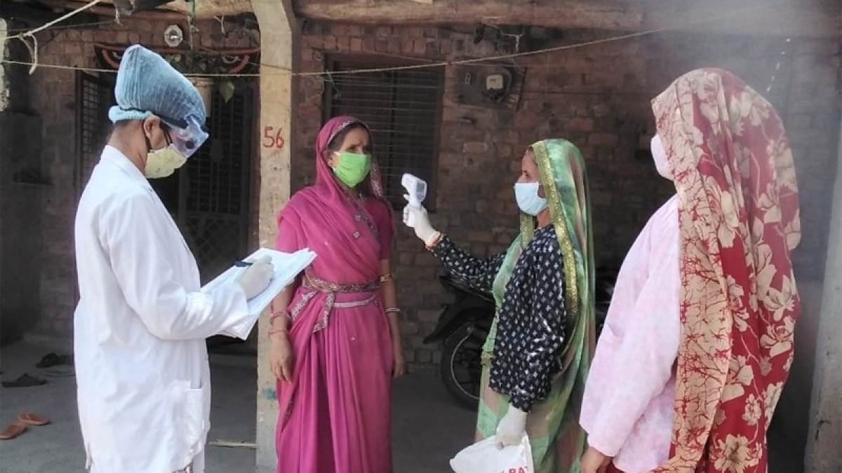 House survey is being carried out under Kill Corona Campaign in Ratlam district. (Representative Photo)