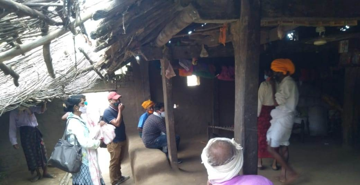 Officers reached house of Kajalia, a resident of Matarkund, to stop wedding of his daughter due to corona curfew