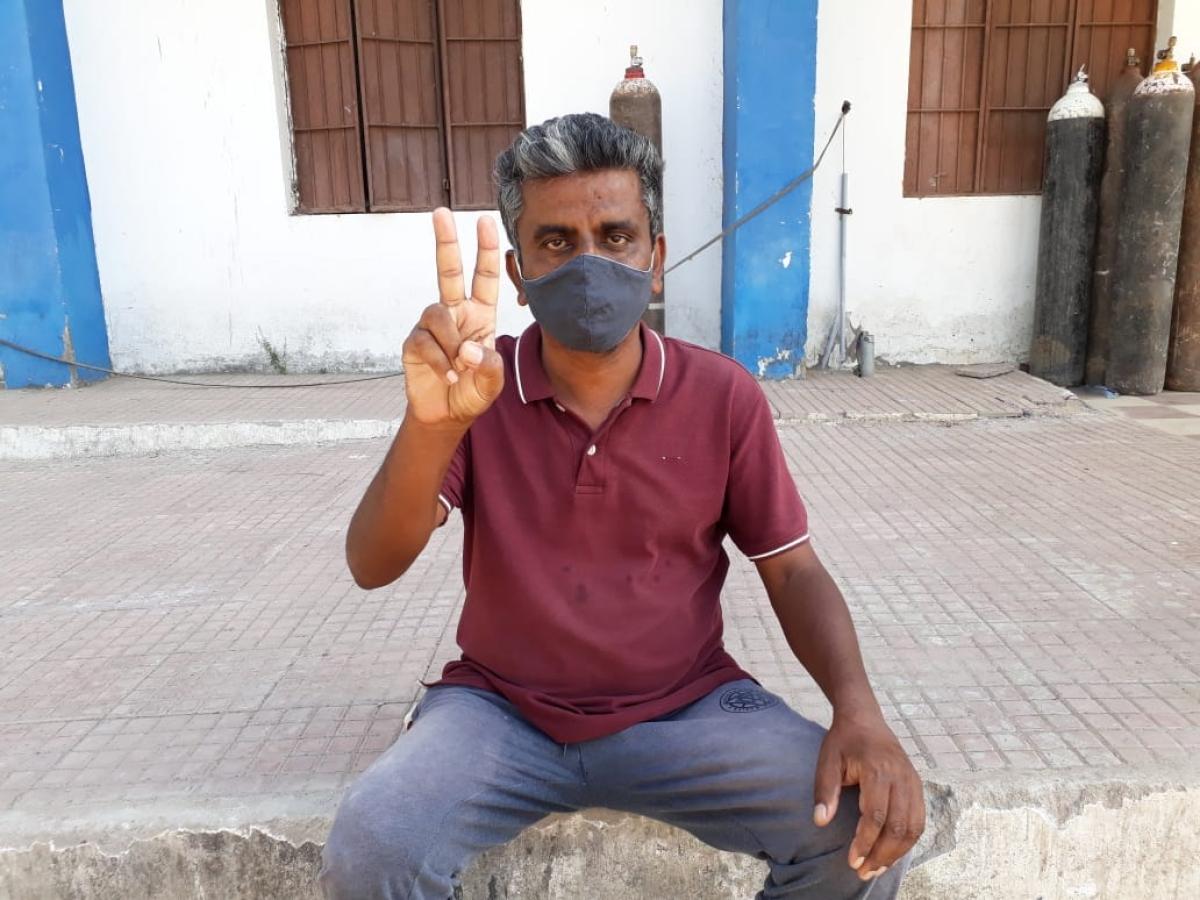 45-year-old teacher Bol Singh Kharat