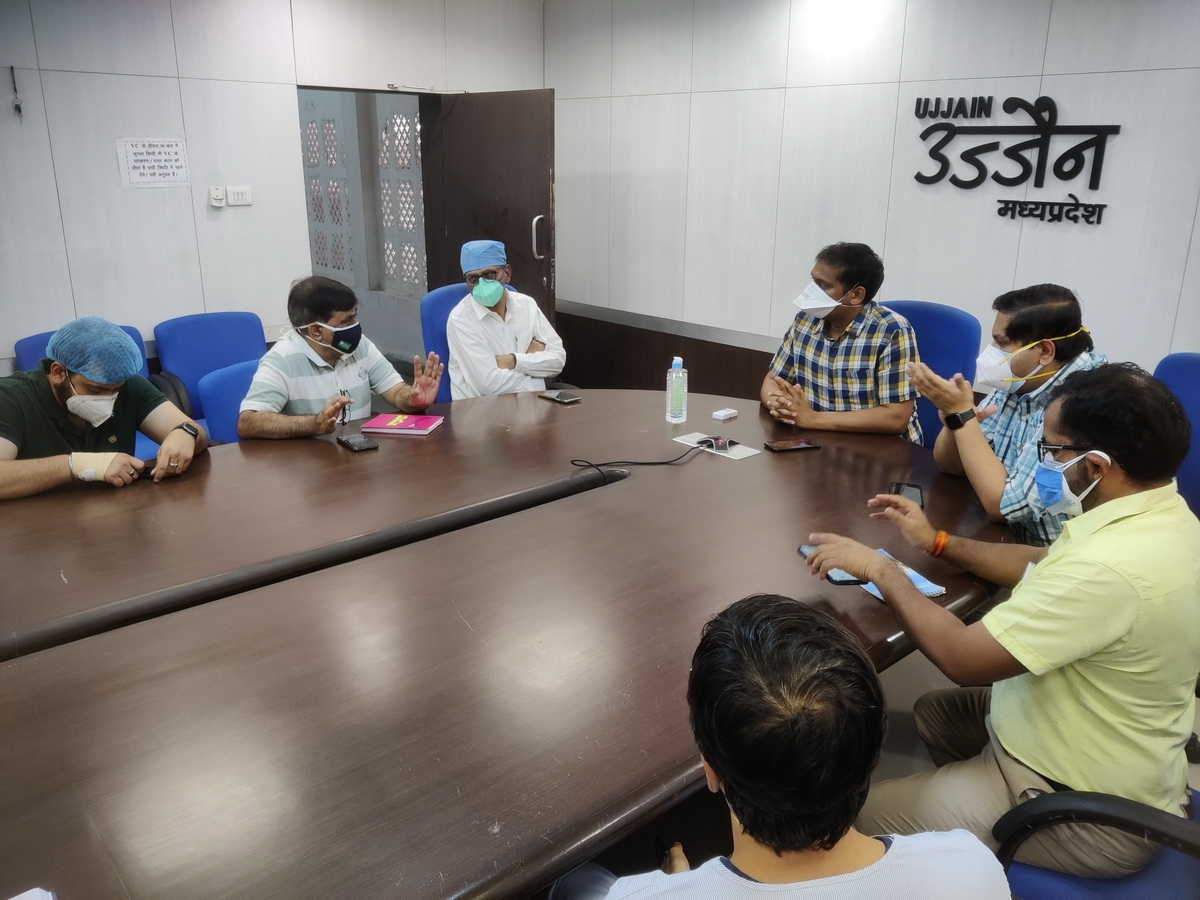 Ujjain: 'Endoscopic examination of corona patients must to check Black Fungus'