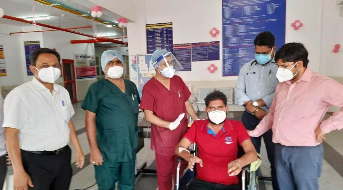 Yogesh Kumar Katare was discharged on Friday