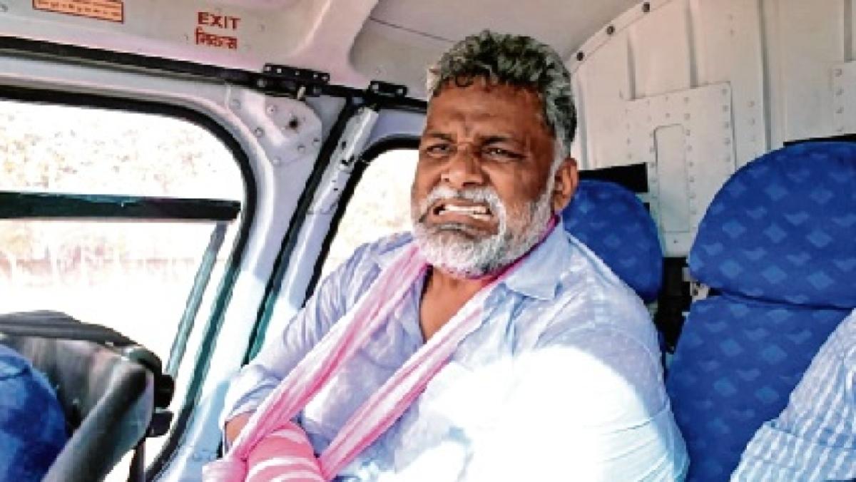 Pappu Yadav starts hunger strike in prison