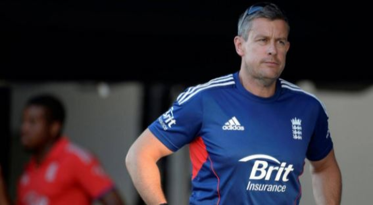 ECB Director of Cricket Ashley Giles.