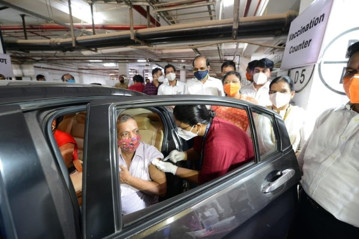COVID-19 in Mumbai: Drive-in facility for vaccination of 45+ specially-abled