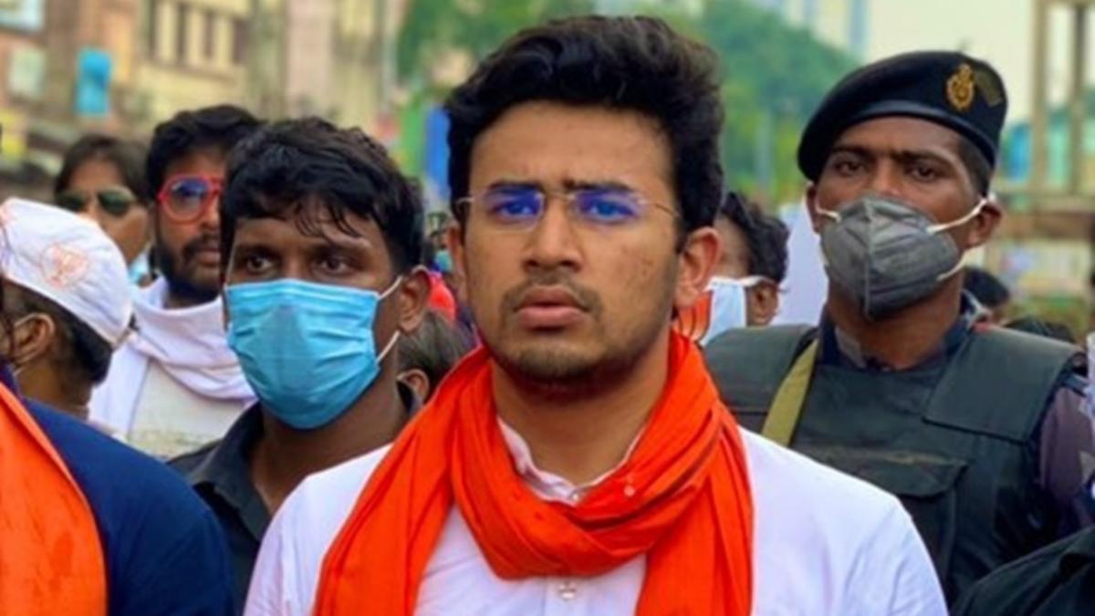 BJP MP Tejasvi Surya