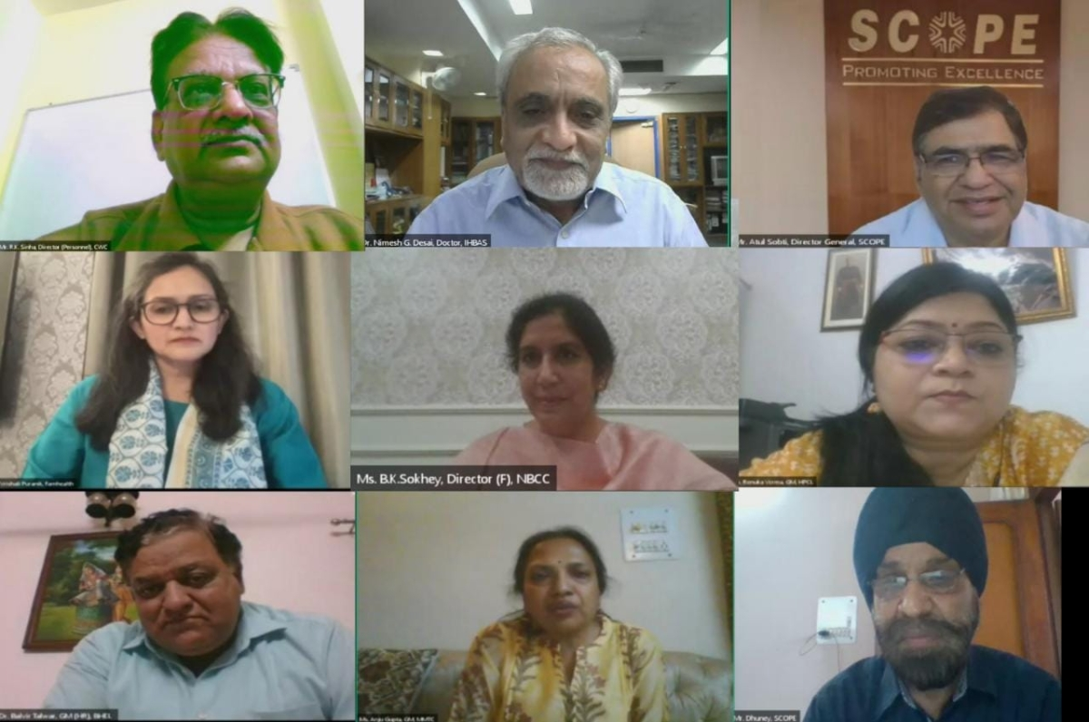 SCOPE organizes 'Sharing is Caring' - Dialogue on Emotional Strengthening